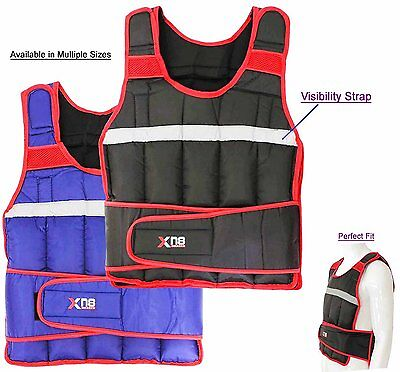 Weighted Vest 10,15,20Kg Weight Loss Training Running Adjustable Jacket Weight