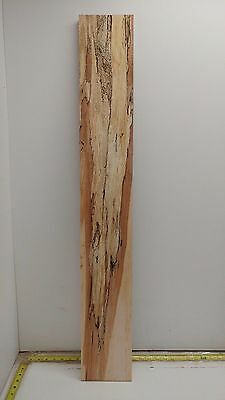 Spalted Maple Wood Project Piece (7/8'' x 5 7/8'' x 41 1/4'')