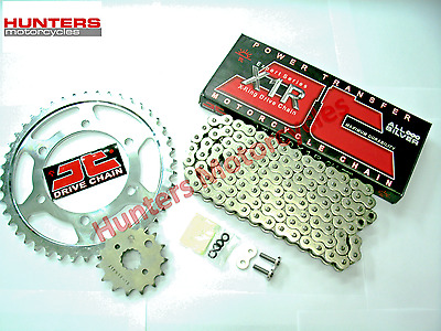Yamaha FZS600 Fazer 1998 to 2003 Silver X-Ring JT Chain & JT Sprockets Kit Set