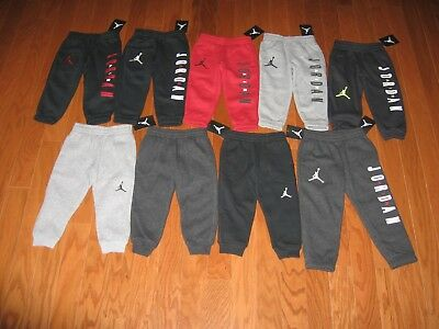Air Jordan Boys Athletic Fleece Jogger Size 2T/3T/4T Nwt Msrp$48