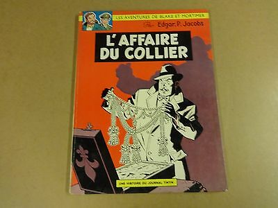 Bd Edgar P. Jacobs / Blake Et Mortimer - L'affaire Du Collier