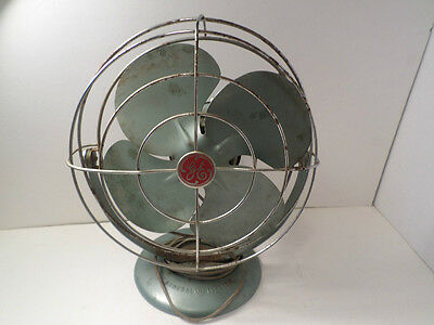 Antique Vintage General Electric 4 Blade Fan GE No 02 Fan