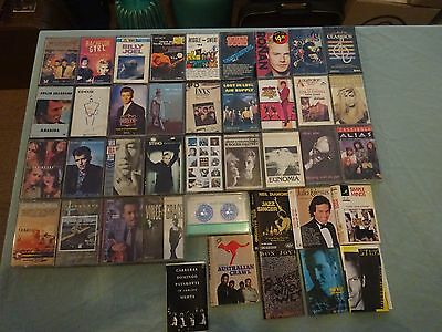 31 Assorted Music Cassette Tapes