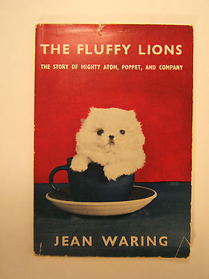 The Fluffy Lions by Jean Waring SC Book Pekingese Dogs c1955
