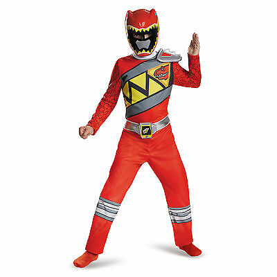Power Rangers Red Ranger Dino Charge Classic Costume by Disguise