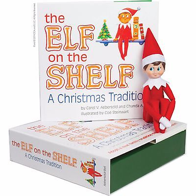 Elf on the Shelf : A Christmas Tradition Blue-Eyed Boy Light Skinned Scout Elf