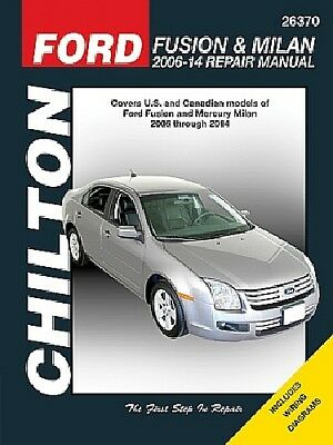 repair manual fits 2006-2008 mercury milan chilton book company
