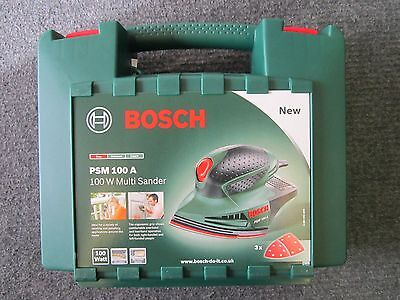 Genuine Empty Carry Case for 240V Bosch PSM 100 A PSM100A 100W Multi Sander