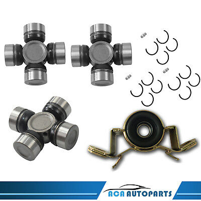 Universal Uni Joints + Centre Bearing Toyota Hilux  & Surf 4Wd 83-97 4X4 Ruj2109