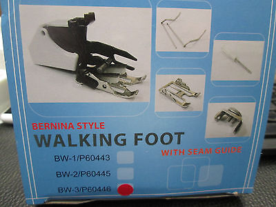New Walking Foot Attachment To Fit Bernina 1090 Sewing Machines.