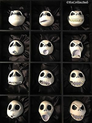 Twelve Faces Of Jack Signed and Numbered By Tim Burton