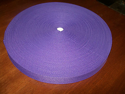 """BINDING TAPE POLYESTER 25mm 1"""" Purple 100 mtrs"""