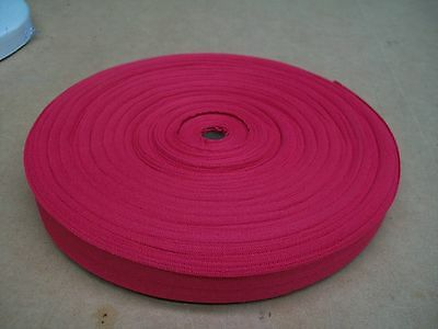 """BINDING TAPE POLYESTER 36mm 1-1/2"""" HOT PINK 100 mtrs"""
