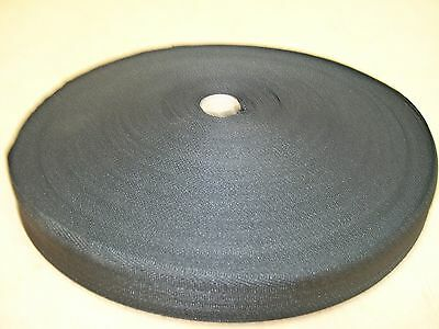 "BINDING TAPE POLYESTER 32mm 1-1/4"" MID GREY 100 mtrs"