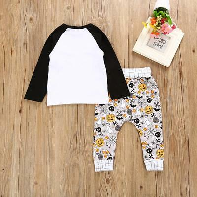 2pcs Newborn Toddler  Baby Boy Girl Clothes T-shirt Tops+Pants Outfits Set