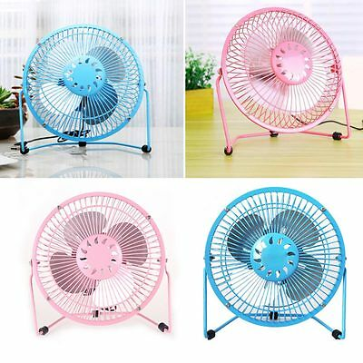 1pcs PC USB Cooling Desk Mini Fan Notebook Laptop Computer Portable Super Mute