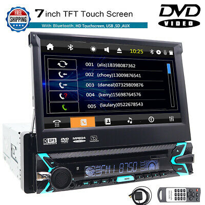 "NEW AVH-X49OB8 Double 2 DIN DVD/CD Player 7"" Bluetooth Receiver iPod Car Stereo"