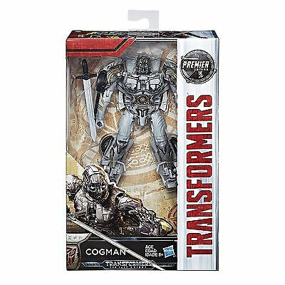Hasbro Transformers Mv5 The Last Knight Premier Edition Deluxe Cogman Figure