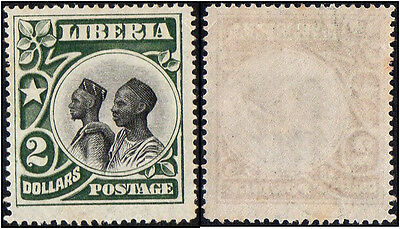 Liberia stamps. 1906 Local Motifs. $2. MH