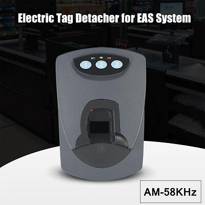 Electric Hard Tags Detacher Remover EAS System Security AM-58KHz