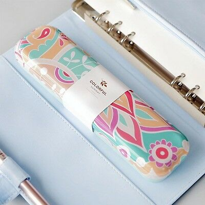 Metal Cute Tin Pen Pencil Box School Stationary Makeup Case School Supplies Gift