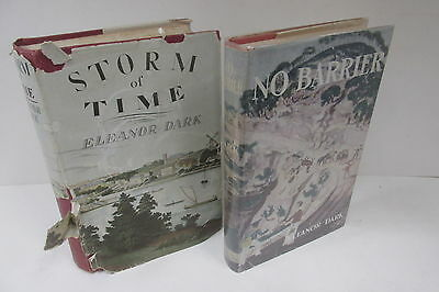 Eleanor Dark x 2 retro book collection 1948-60 (Collins London)