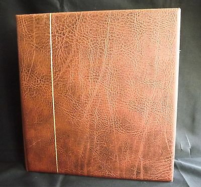 Vanuatu Stamp Album As New 1980 - 2001 ~ Leather Bound One Of * No Stamps*