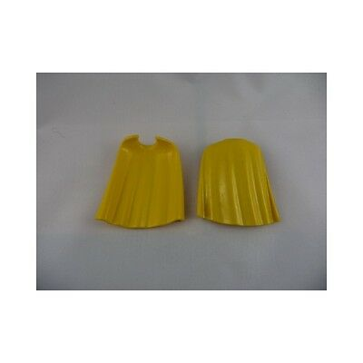 2732 Playmobil Lot de 2 capes jaunes mi longues