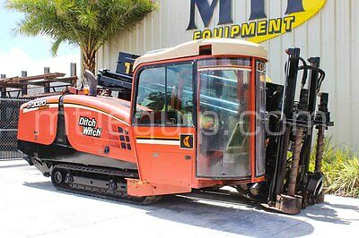2008 Ditch Witch JT3020 Mach 1 Cab Horizontal Directional Drill - MTI Equipment