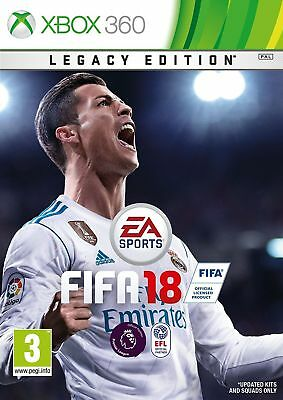 FIFA 18 - Legacy Edition (Xbox 360) NEW & SEALED Fast Dispatch Free UK P&P