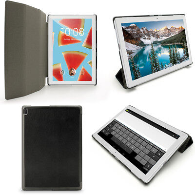 PU Leather Smart Case for Lenovo Tab 4 10'' 2017 Cover + Screen Protector
