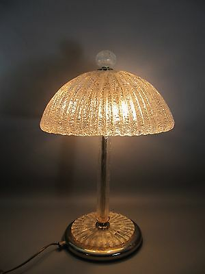60s SELTENE MURANO TISCHLEUCHTE - rare murano table light