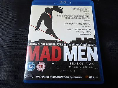 Mad Men - Series 2 - Complete (3-Disc Blu-ray Box Set 2009) SECOND SEASON TWO