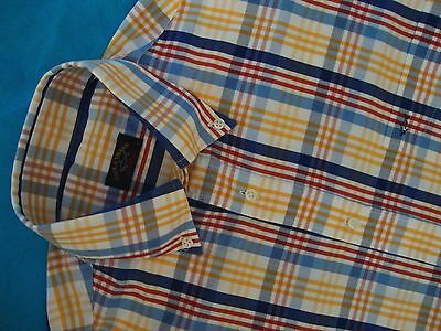 SHIRT camicia  vintage PAUL & SHARK yachting  tg.39 circa L Made in  Italy
