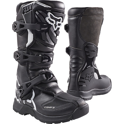 Fox Racing / Youth Comp 3 Boots / Mx Motocross Atv Dirt Bike Off Road
