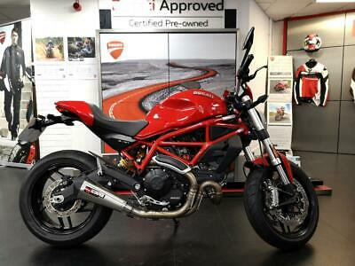 Ducati Monster 797+ with Scorpion exhaust & Ducati Tail Tidy