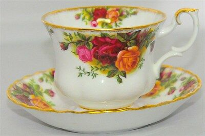 "1-ROYAL ALBERT ""OLD COUNTRY ROSES"" TEACUP & SAUCER ( 5 Available )"