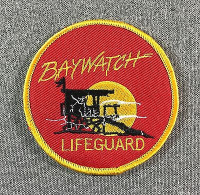 BAYWATCH LIFEGUARD PATCH 3.5in iron-on patch