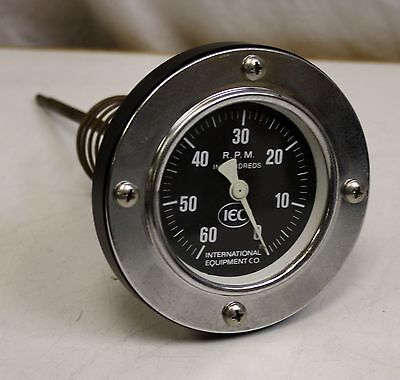 IEC Centrifuge Tachometer, 6000 RPM, New Old Stock, Damon ThermoScientific