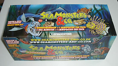 DeAgostini Seamonsters & Co. - 1 x Display / 21 x Booster NEU & OVP