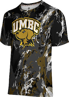 UMBC ProSphere Men/'s University of Maryland Baltimore County Ripple Tech Tee