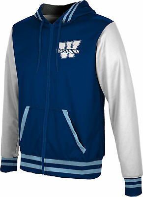 WSU ProSphere Men/'s Wright State University Geometric Fullzip Hoodie