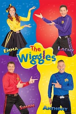 The Wiggles - Quartet Poster