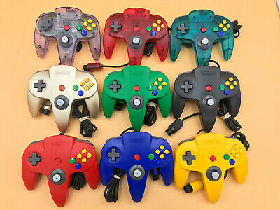Nintendo 64 ORIGINAL CONTROLLER W/ TIGHT STICK! CHOOSE YOUR COLOR! OEM AUTHENTIC