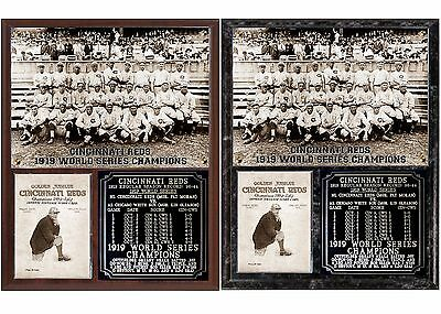 b533c5afec65 CINCINNATI REDS 1919 World Series Champions Photo Plaque - $25.15 ...