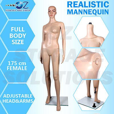1 x New Female Full Body Size Mannequin Shop Display Mannequin 175cm F5