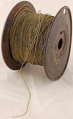 Replacement braided dial tuner cord for antique / vintage radios