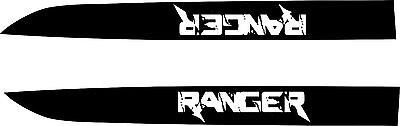 Ford Ranger Bonnet Stickers 2 x 900mm x 90 Quality Marine Grade Material