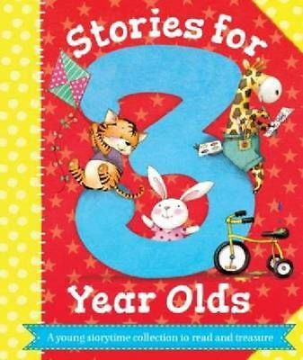Stories for 3 Year Olds Hardcover Book Free Shipping!