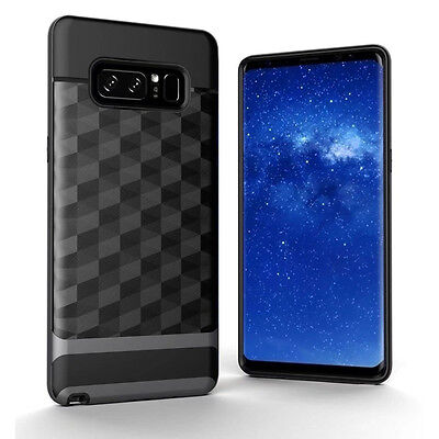 For Samsung Galaxy NOTE 8 Hybrid Shockproof Silicon Bumper Cover Ultra Thin Case